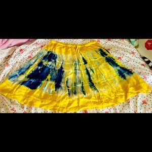 Indian Tropical Fashion Skirts - Tie Dye Skirt
